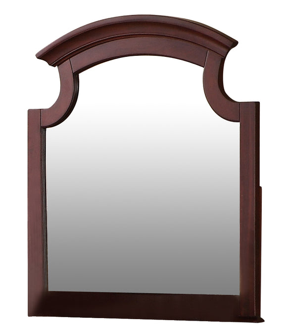 Global Furniture Laura Mirror in Cherry image
