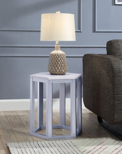 Reon Marble & Silver End Table (2Pc Pk) image