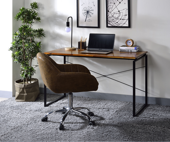 Jurgen Oak & Black Desk image