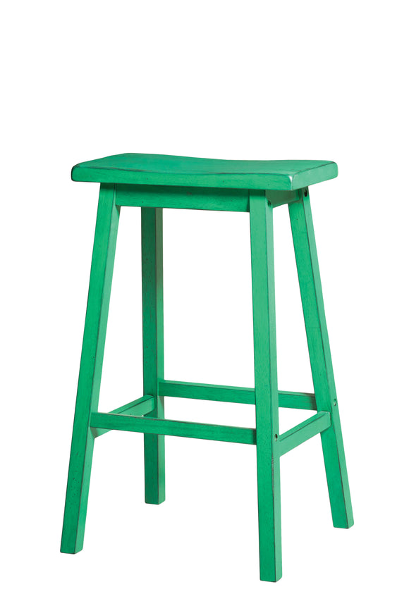 Gaucho Antique Green Bar Stool image