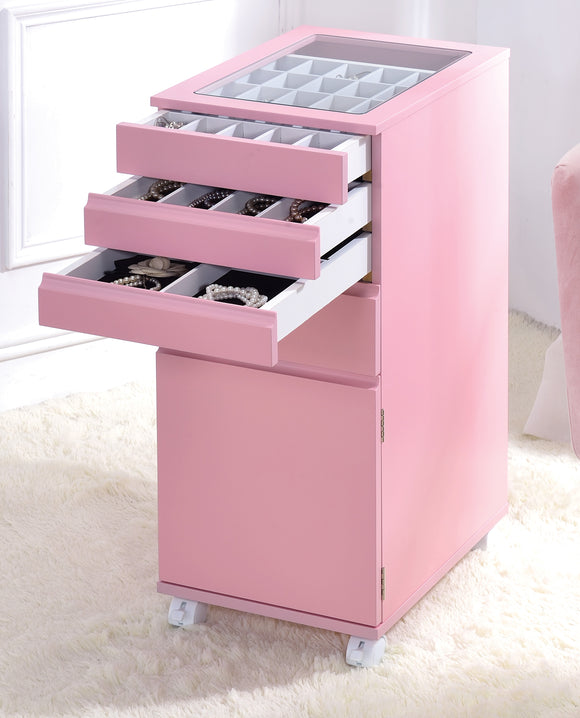 Nariah Pink Jewelry Armoire image