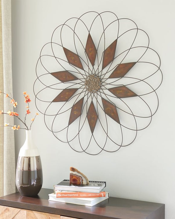 Dorielle Signature Design by Ashley Wall Decor image