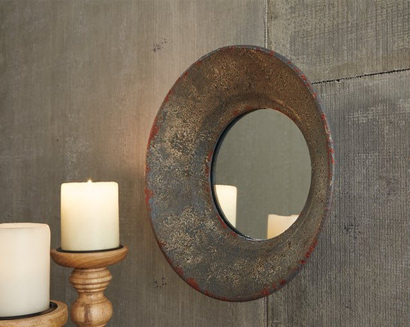 Carine Signature Design by Ashley Mirror image
