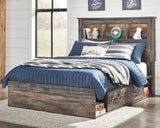 drystan-signature-design-by-ashley-bookcase-bed-with-2-storage-drawers