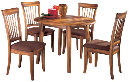 berringer-ashley-5-piece-dining-room-set-with-drop-leaf-table
