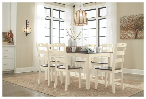 Woodanville Signature Design by Ashley Dining Table Set of 7