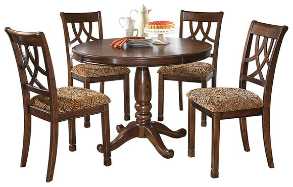 Leahlyn Signature Design 5-Piece Dining Room Set