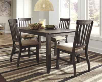 Dresbar Signature Design Dining Table 5-Piece Dining Room Package