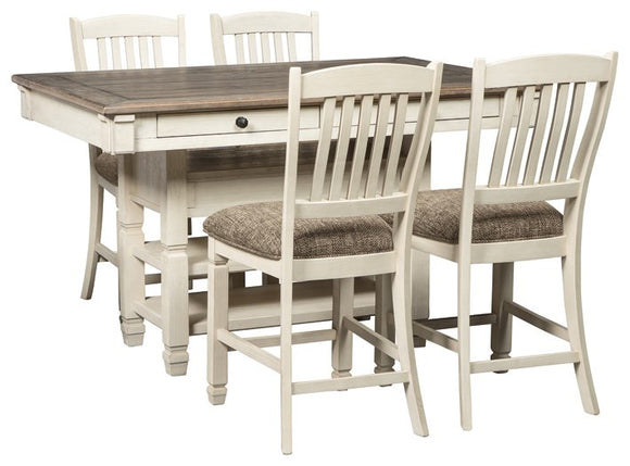 bolanburg-signature-design-counter-height-5-piece-dining-room-set