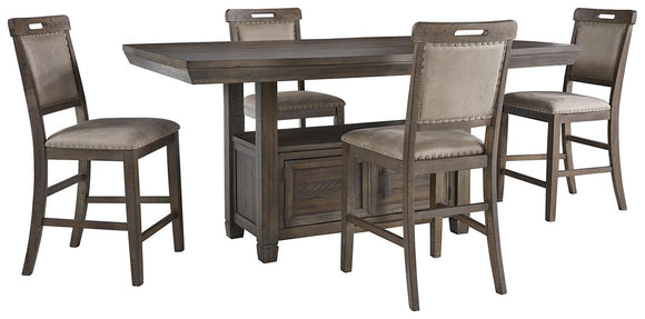 johurst-benchcraft-5-piece-dining-room-set