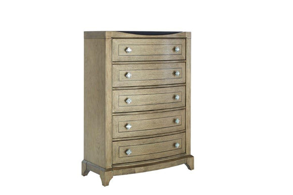 Global Furniture Athena Chest in Antique Gold ATHENA-CH image