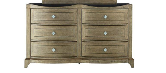 Global Furniture Athena Dresser in Antique Gold ATHENA-D image