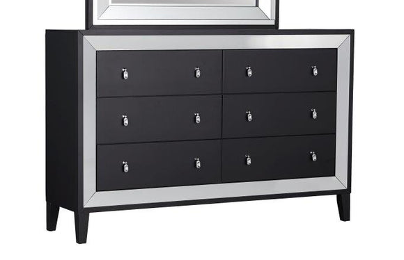 Global Furniture Catania Dresser in Black Matte CATANIA-D image