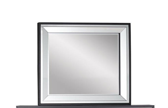 Global Furniture Catania Mirror in Black Matte CATANIA-M image
