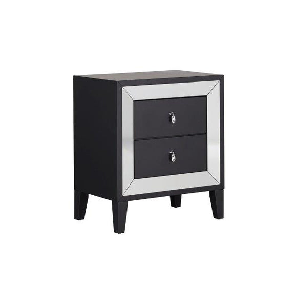 Global Furniture Catania Nightstand in Black Matte CATANIA-NS image