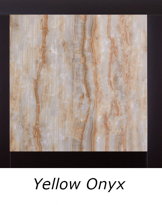 Global Furniture Marble Stone Top Dining Table in Yellow Onyx D040DT image