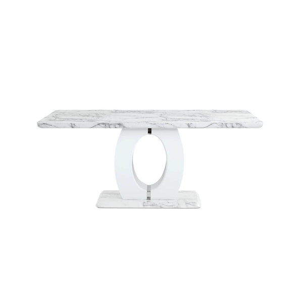 Global Furniture D894 Dining Table in White D894DT image