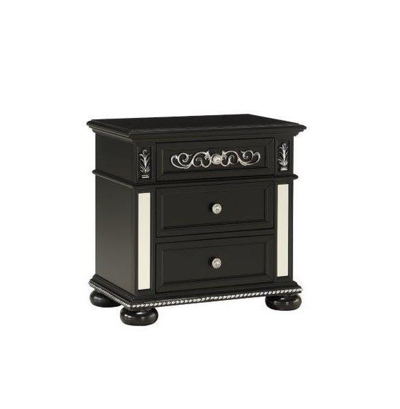 Global Furniture Diana Nightstand in Black DIANA BL-NS image