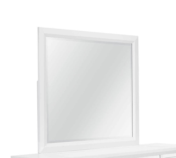 Global Furniture Mackenzie Mirror in White MACKENZIE-M image