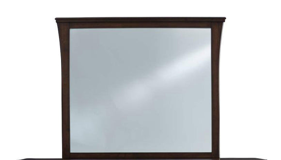 Global Furniture Monterey Mirror in Mahogany MONTEREY-M image