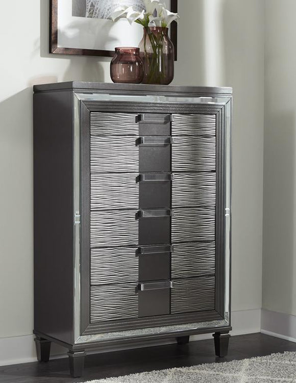 Global Furniture Pisa Chest in Gray PISA-CH image