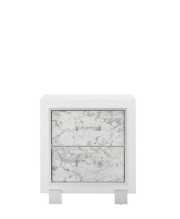 Global Furniture Santorini Nightstand in White SANTORINI-NS image