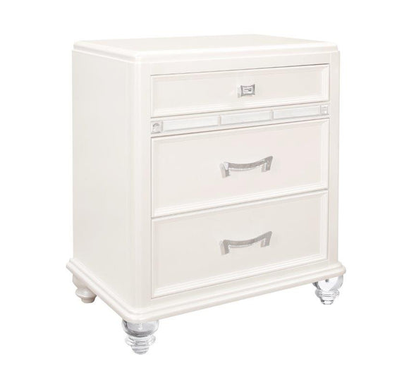 Global Furniture Sofia Nightstands in White SOFIA WHITE-NS image