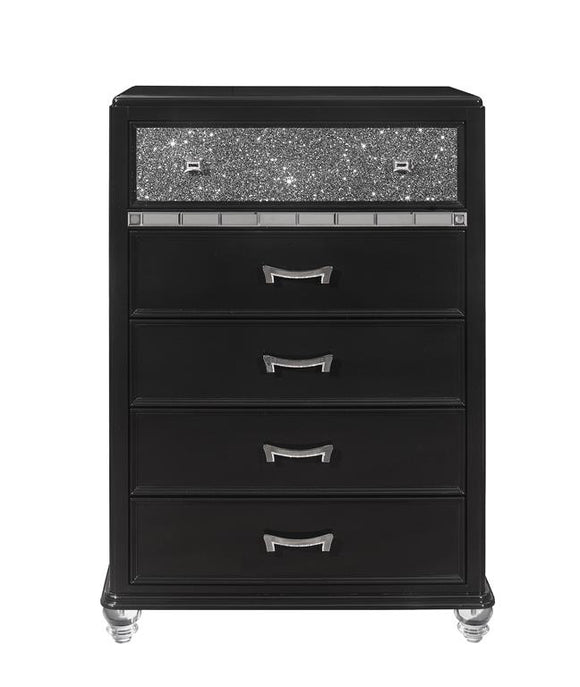 Global Furniture Sonia Chest in Black SONIA-CH image