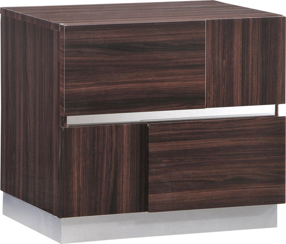 Global Furniture Tribeca Nightstand in Wood Grain image