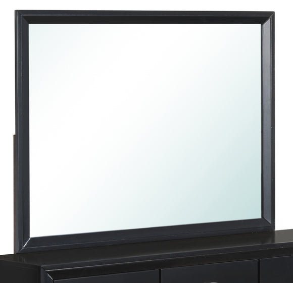 Global Furniture Carolina Mirror in Black image