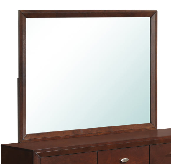 Global Furniture Carolina Mirror in Merlot image