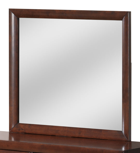 Global Furniture Linda Mirror in Merlot image