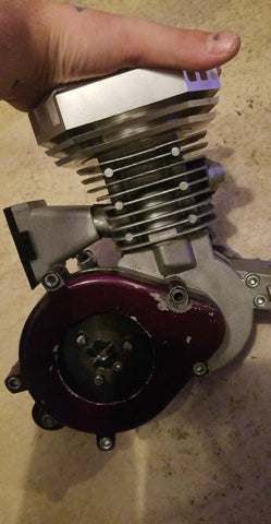 BMB 49mm Iron Sleeve Beef++ Pro Class Racing engine
