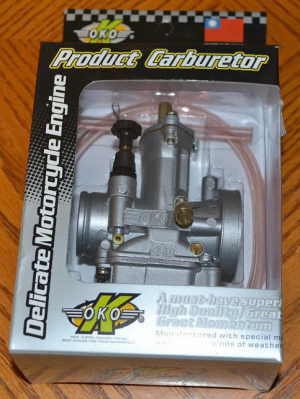 OKO 21mm PWK Carburetor (#1 carb for Racing)