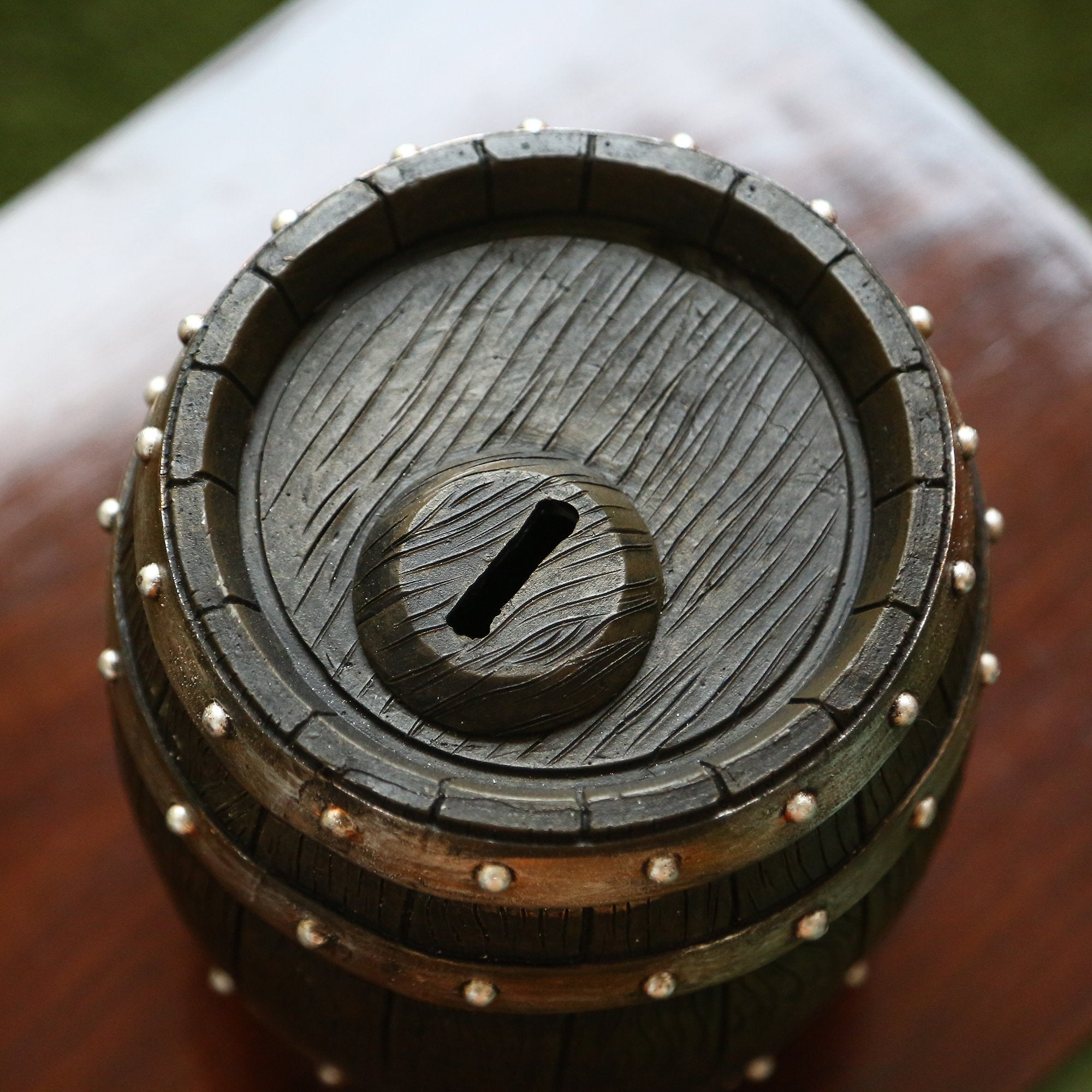 Barrel Coin Box