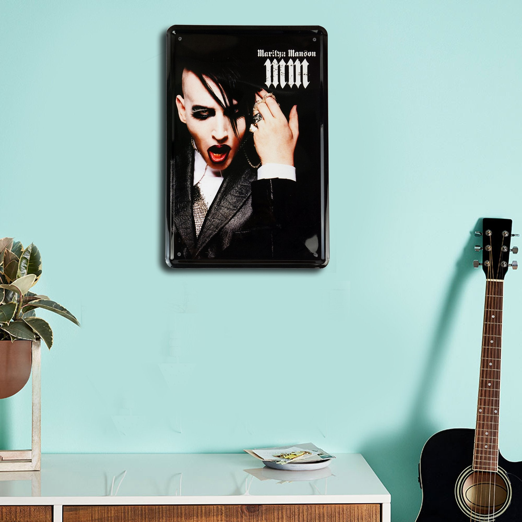Marilyn Manson Wall Plaque