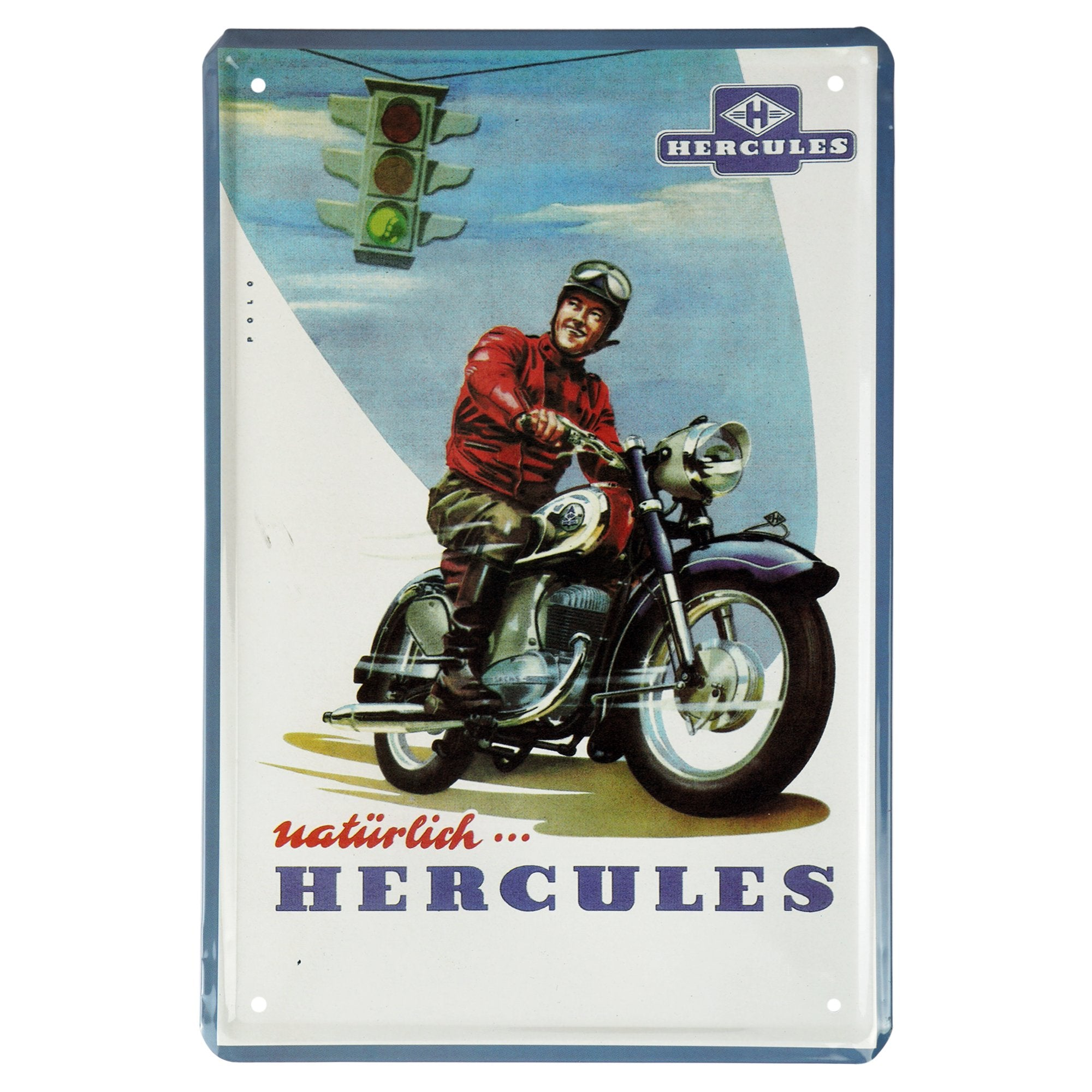 Hercules Wall Plaque