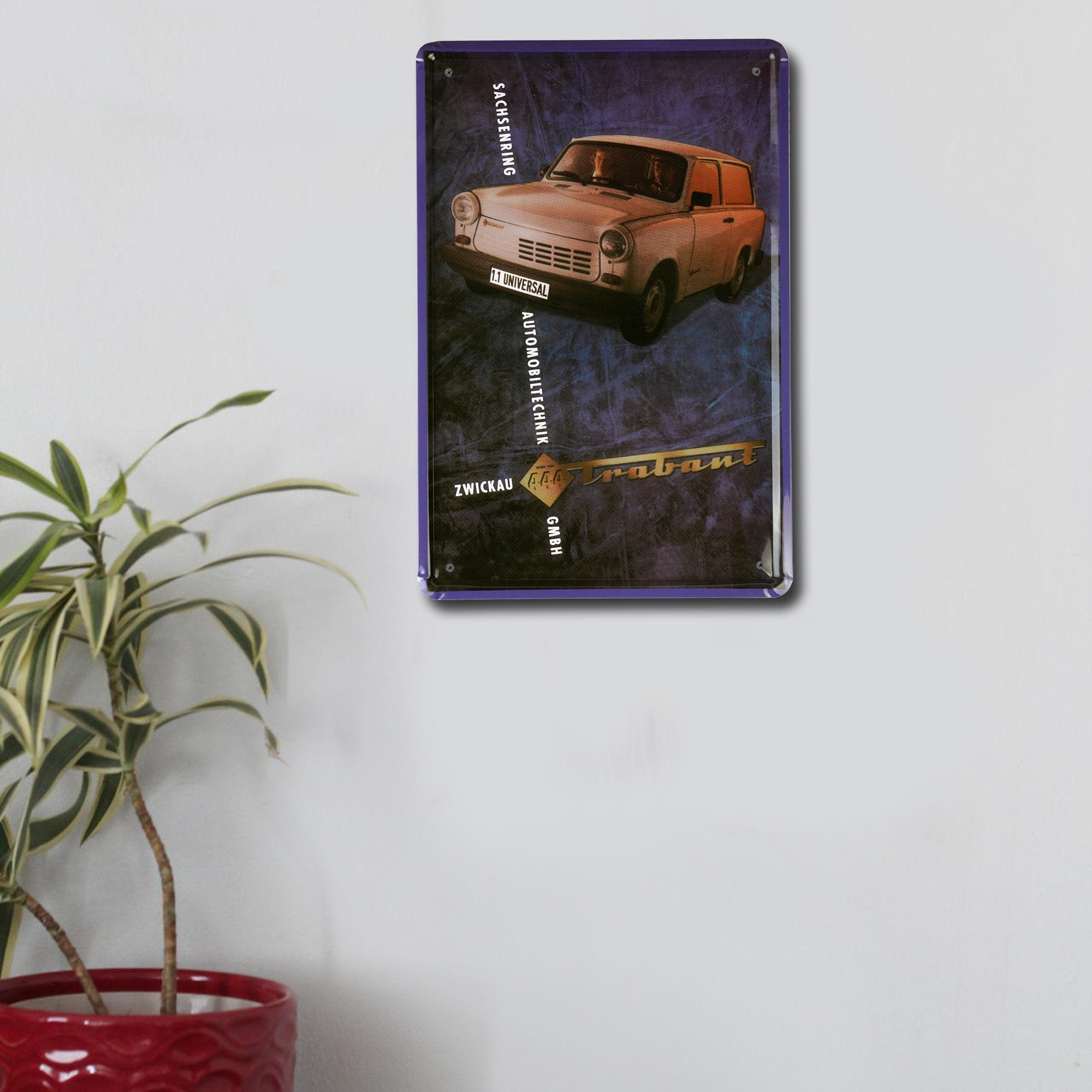 444 Trabant Wall Plaque