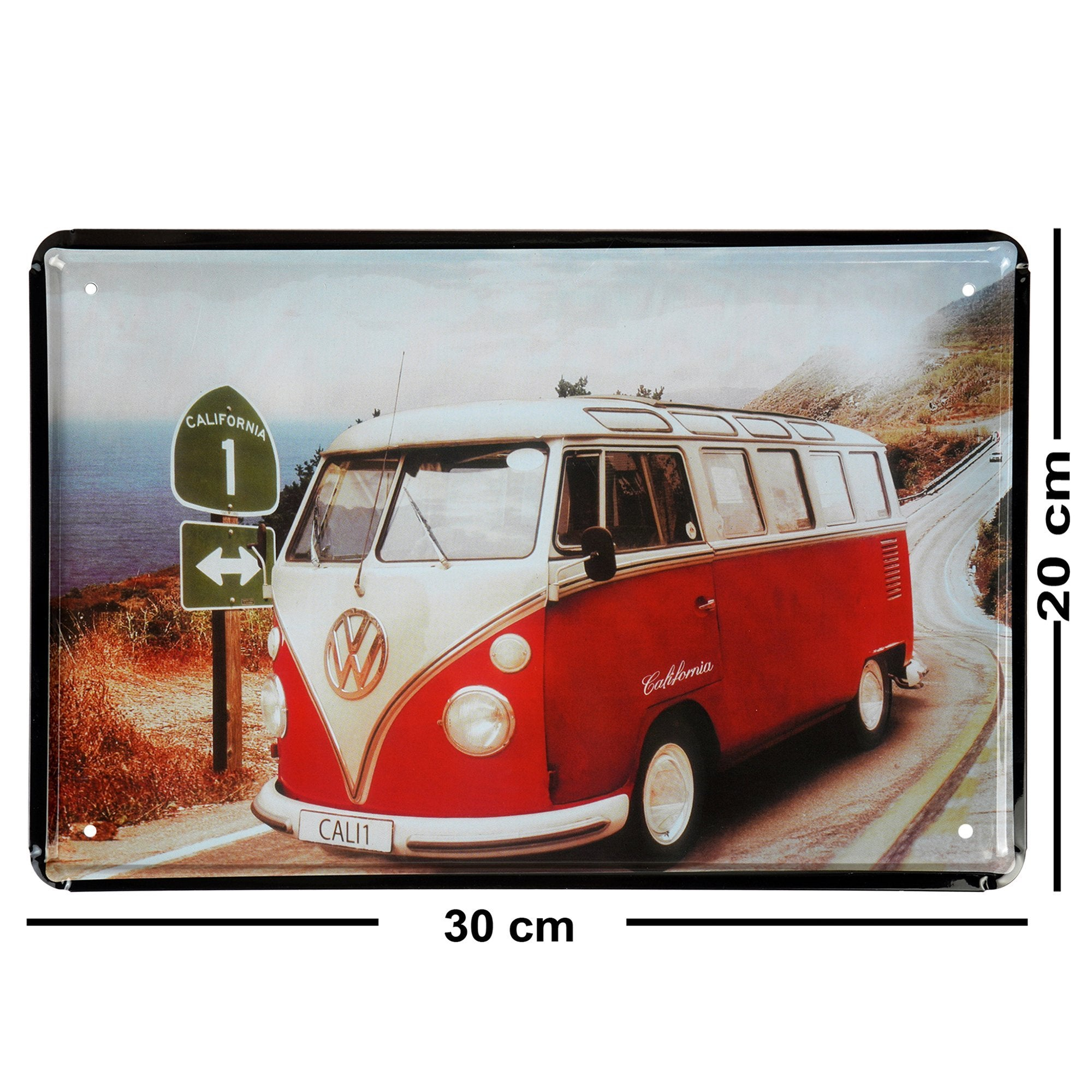 Volkswagen Bus Wall Plaque