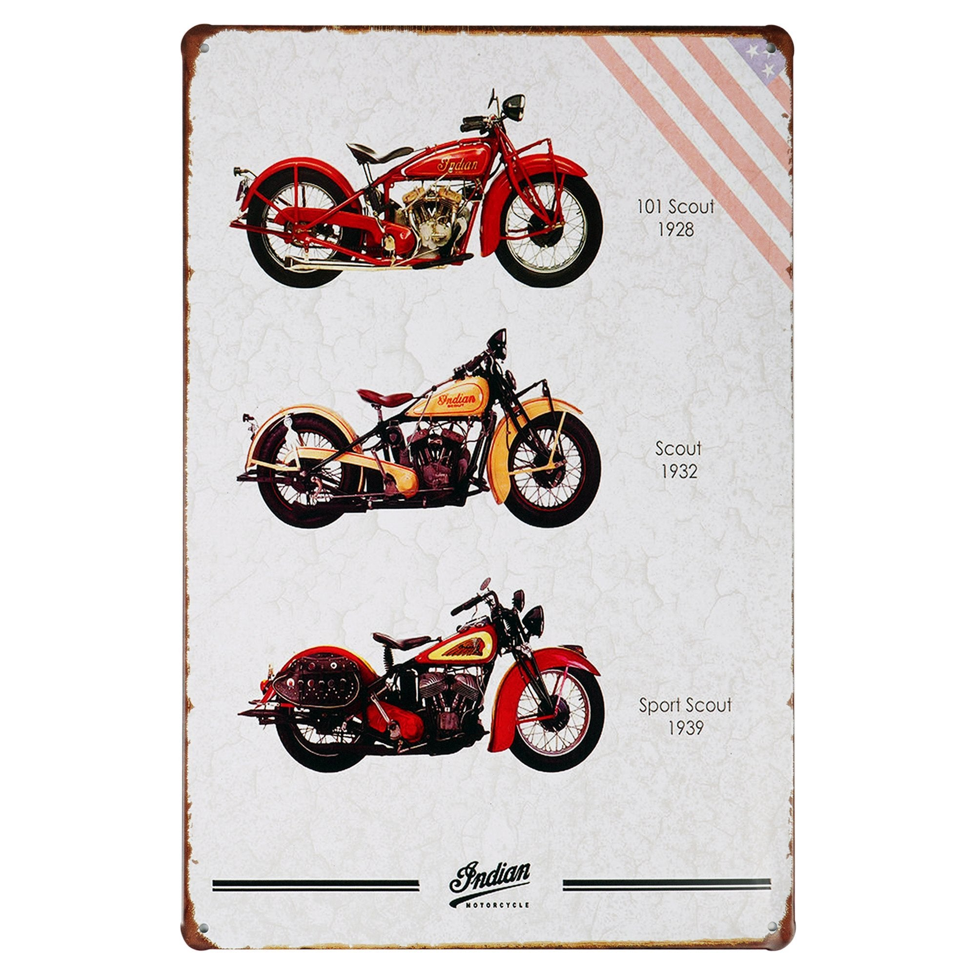 Indian Scout Wall Plaque