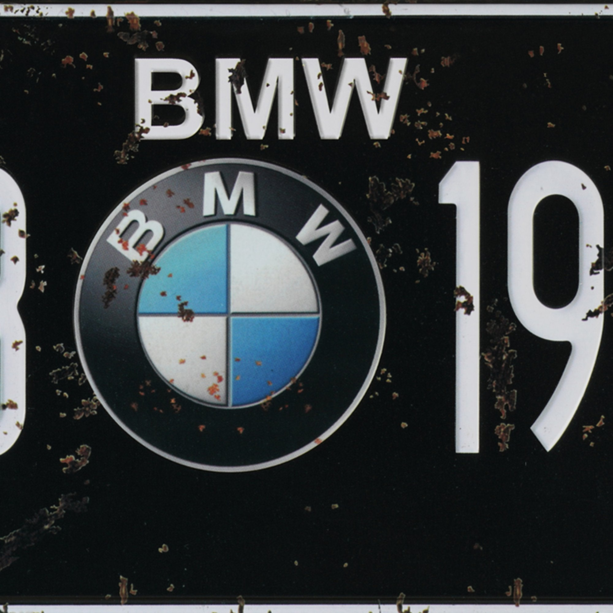 BMW Wall Plaque