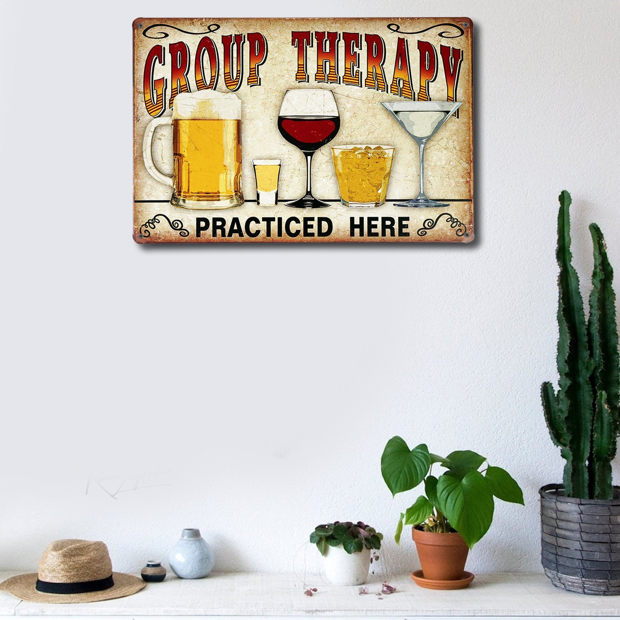 Group Therapy Wall Plaque