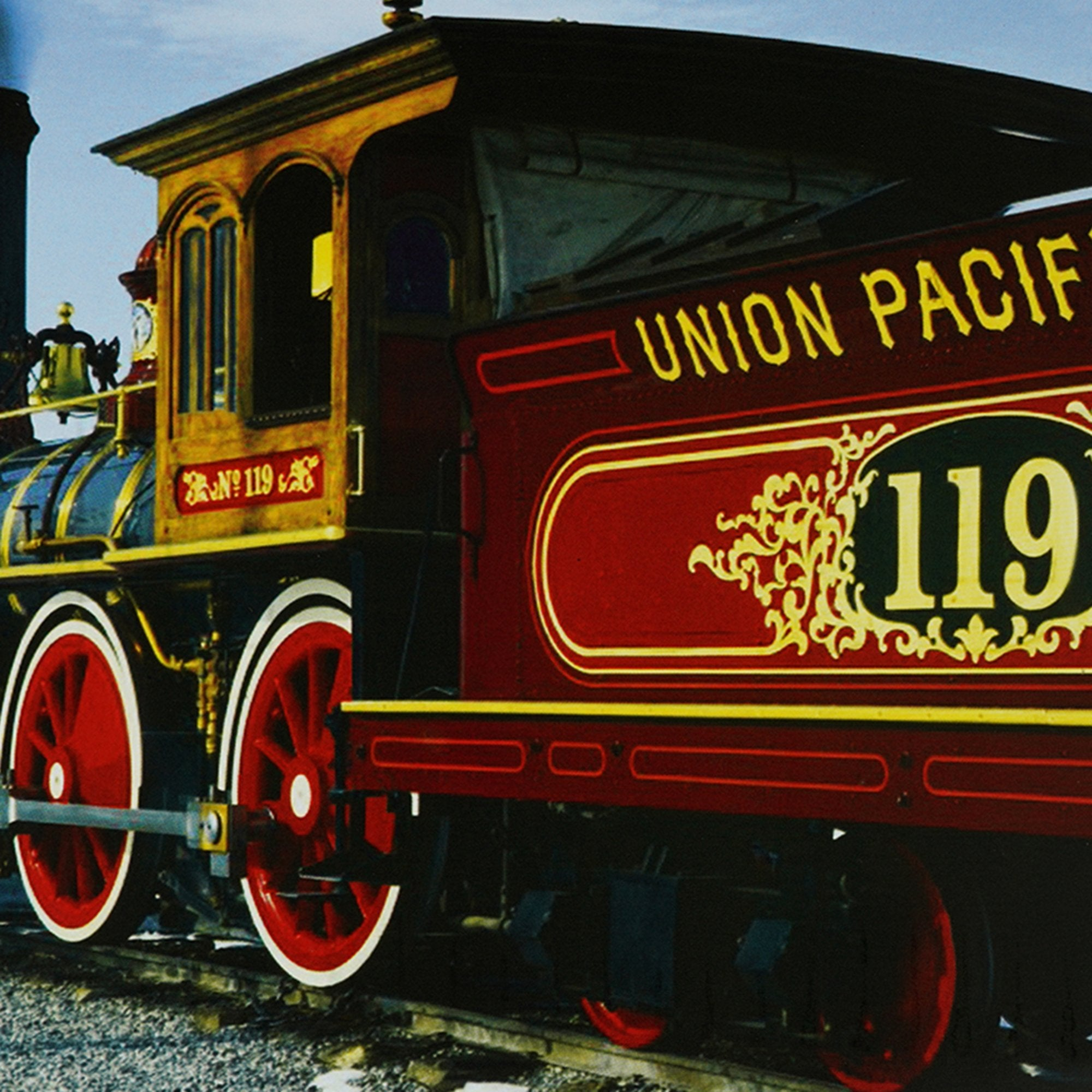 Union Pacific R.R. 119 Wall Plaque