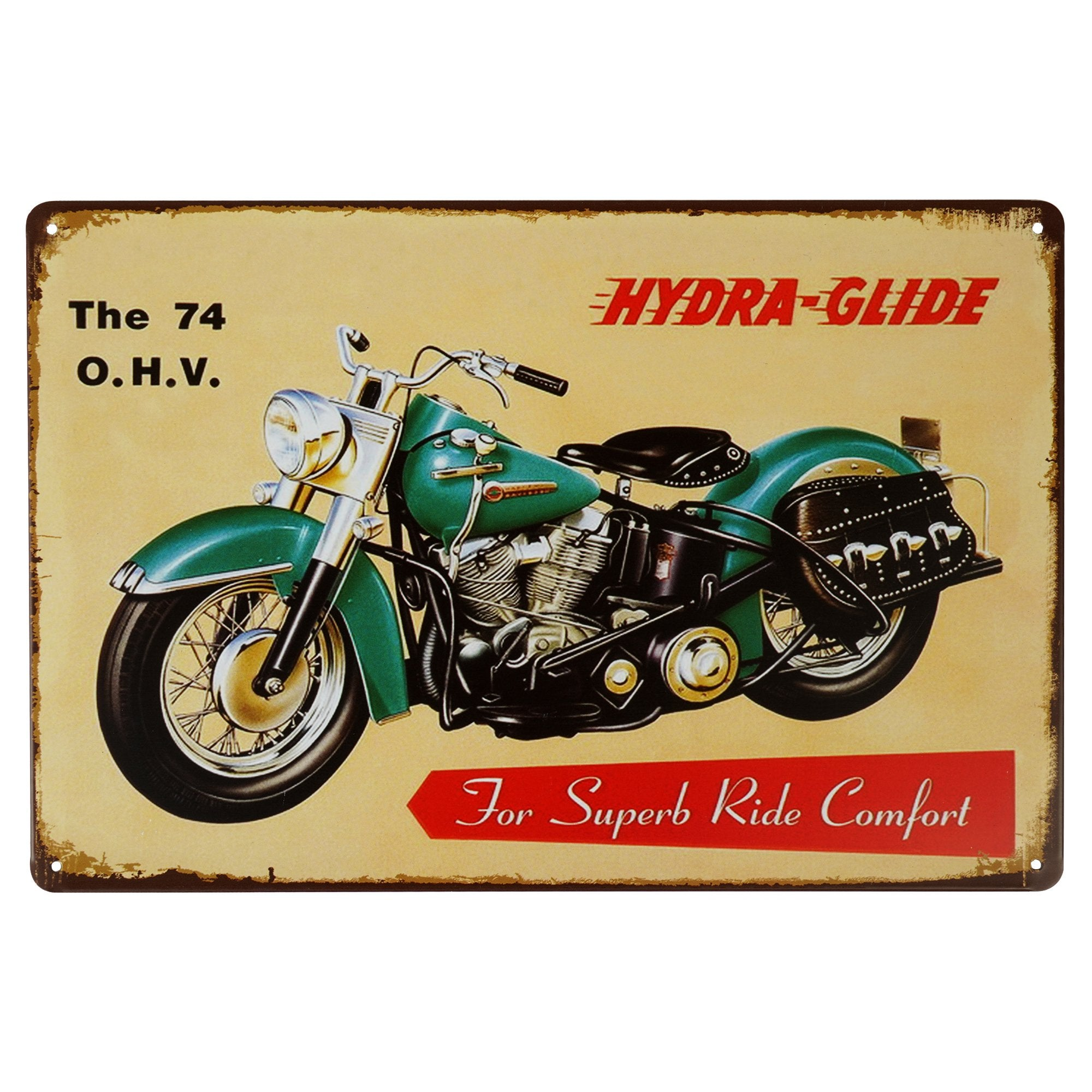 Hydra-Glide Wall Plaque