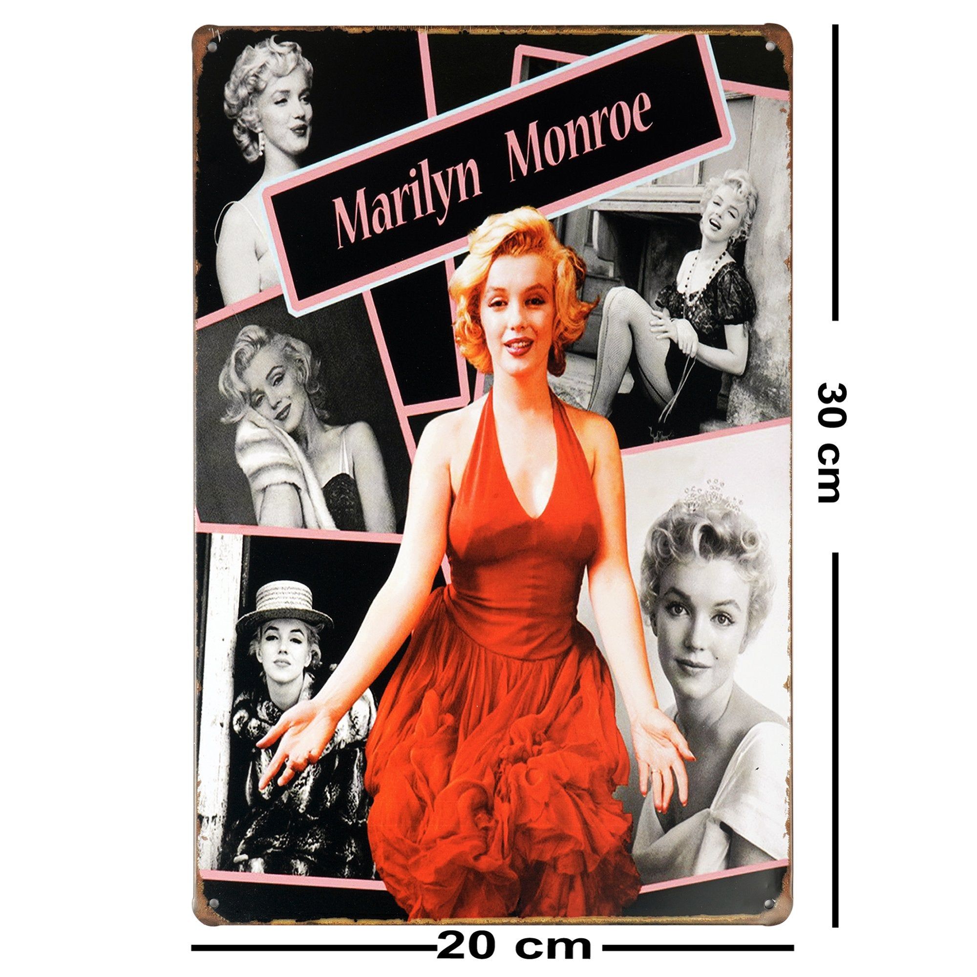Marilyn Monroe Glam Wall Plaque