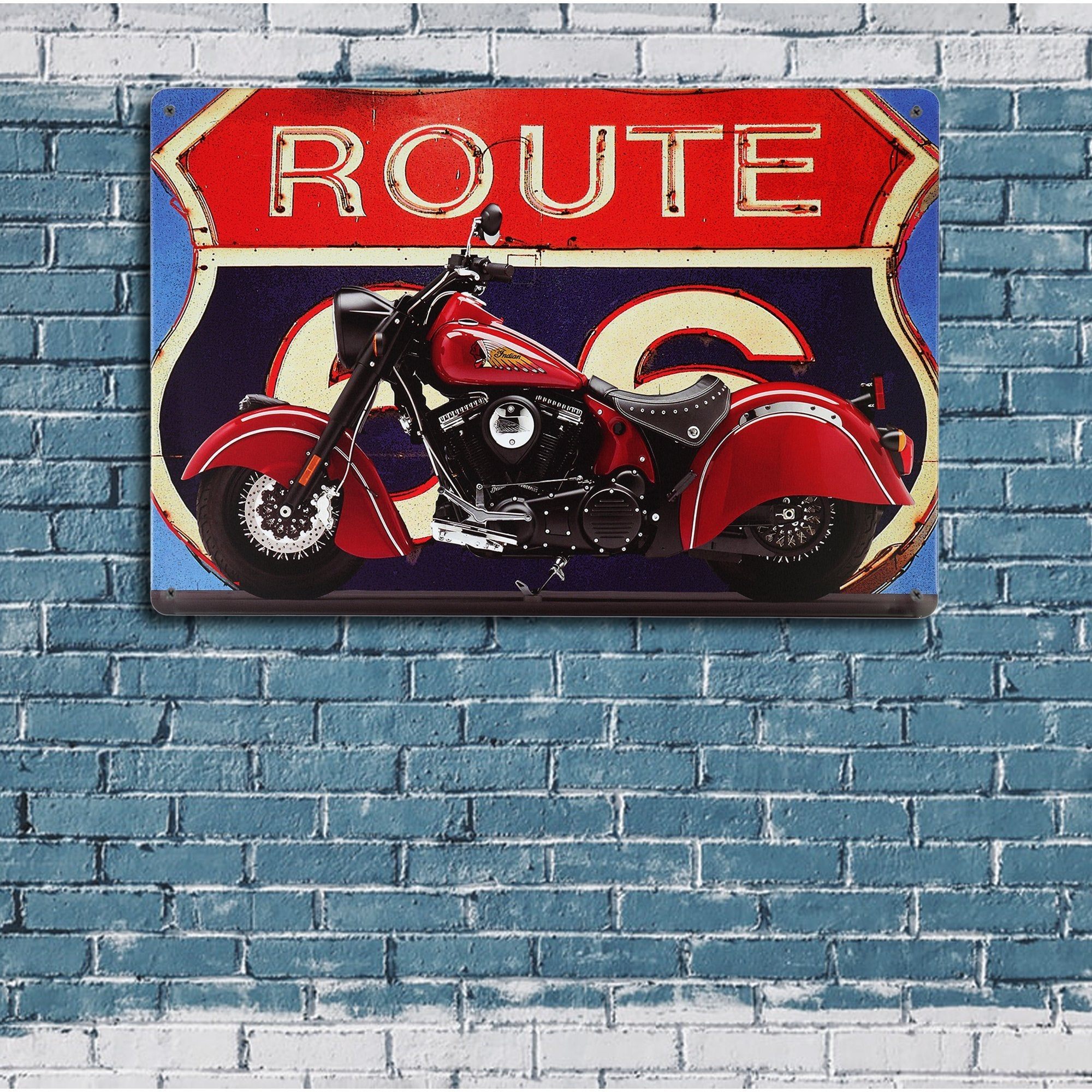 U.S. Route 66 Wall Plaque 2