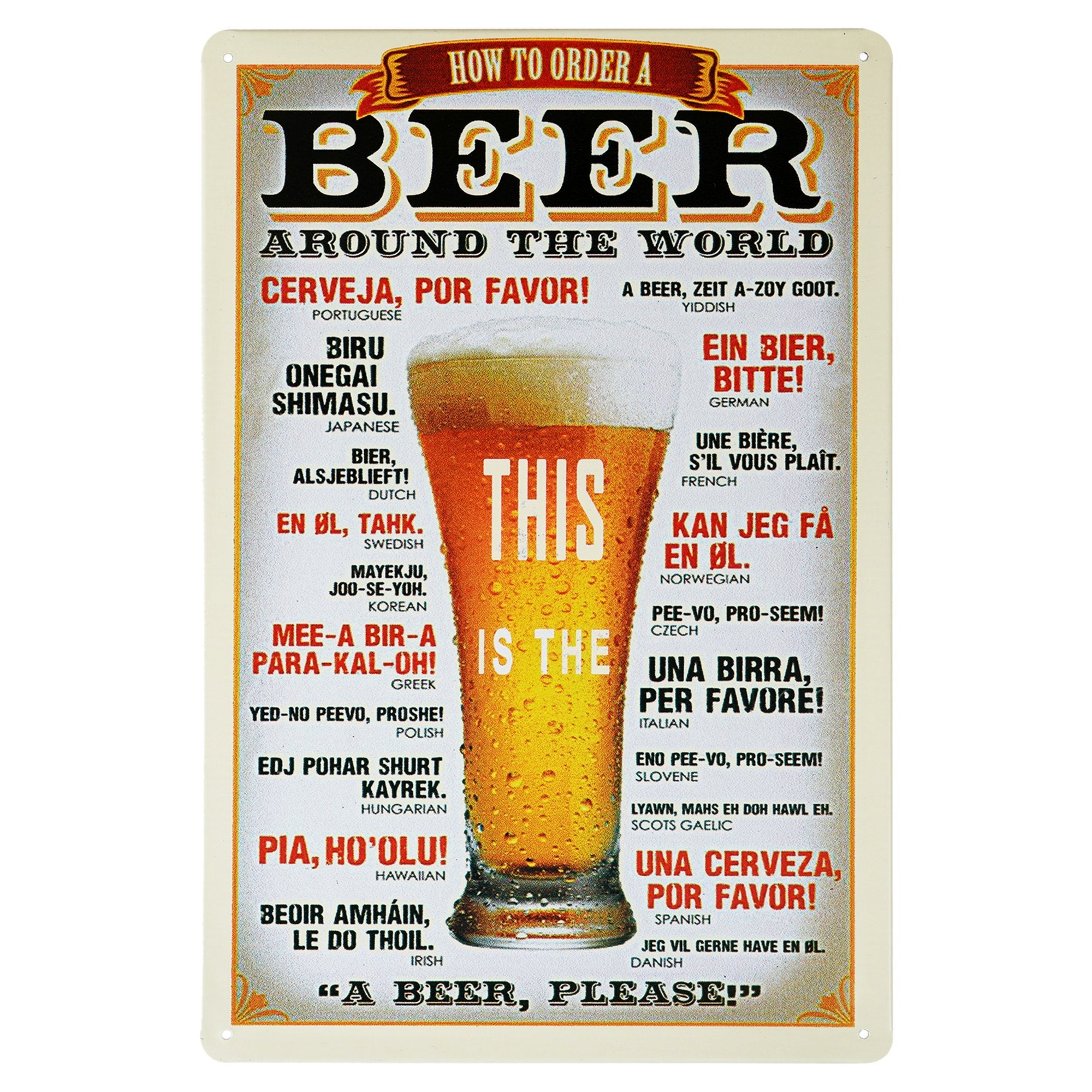 Beer Wall Plaque