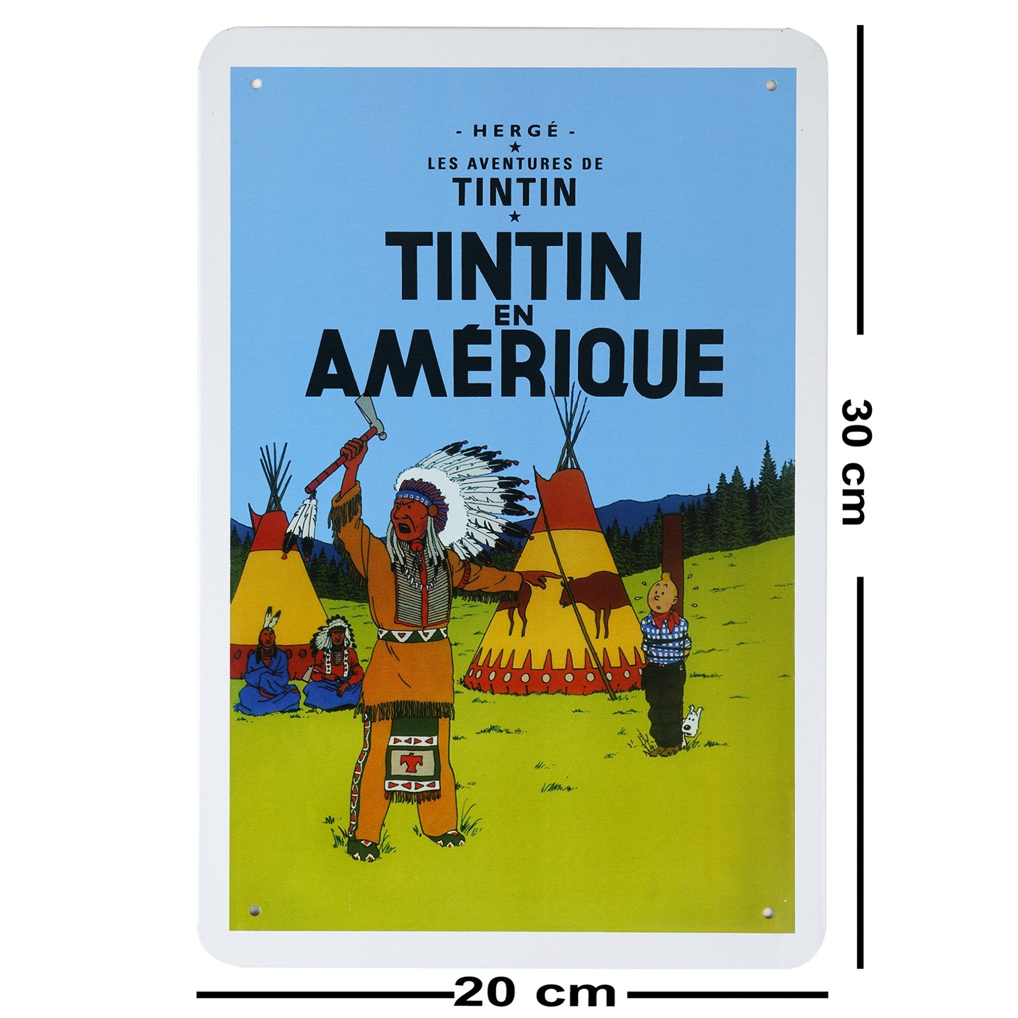 Tintin Wall Plaque