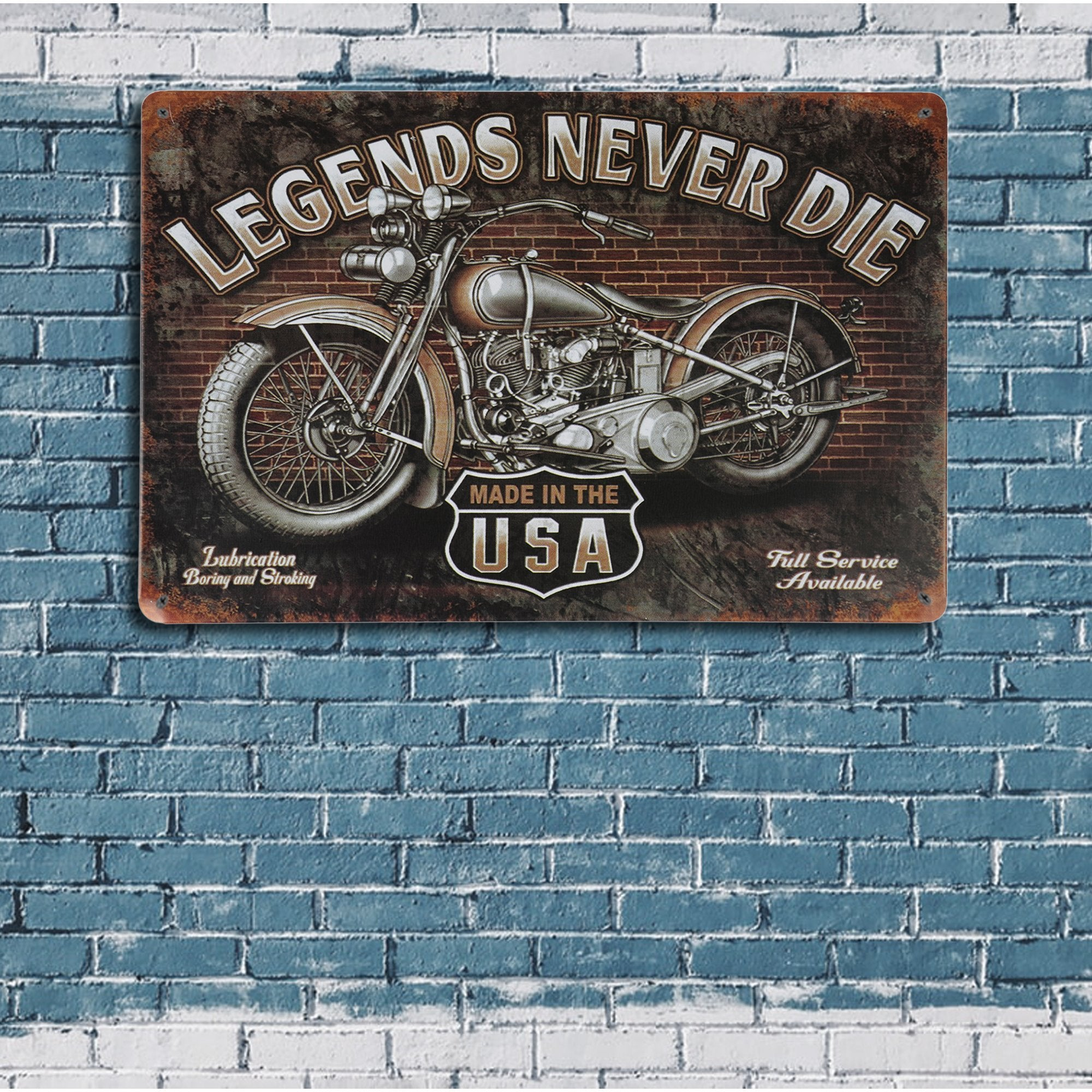 Made in USA Wall Plaque
