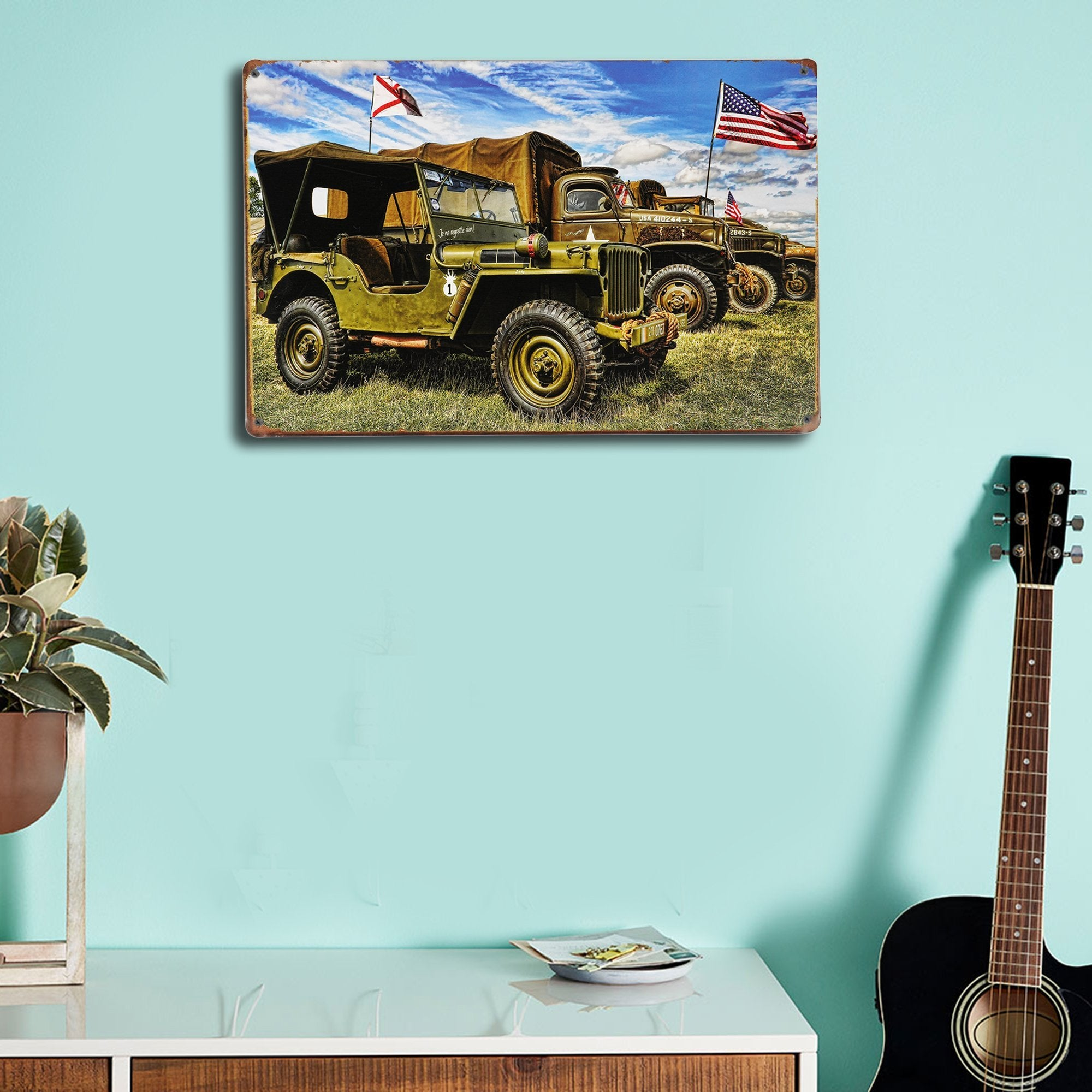 Jeep Wall Plaque